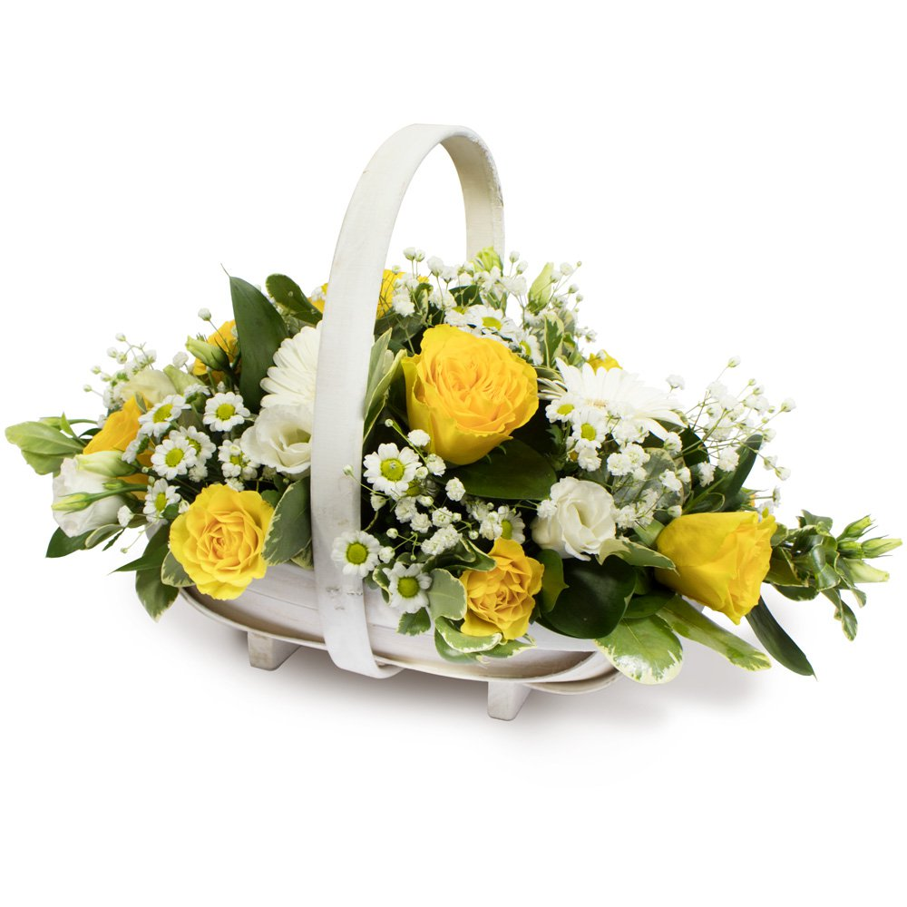 Sympathy Basket Arrangement